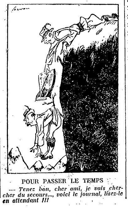 1924 : humour