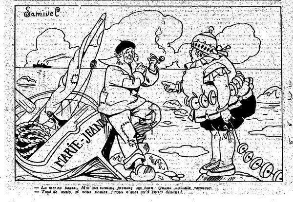 1924 : humour de bord de mer