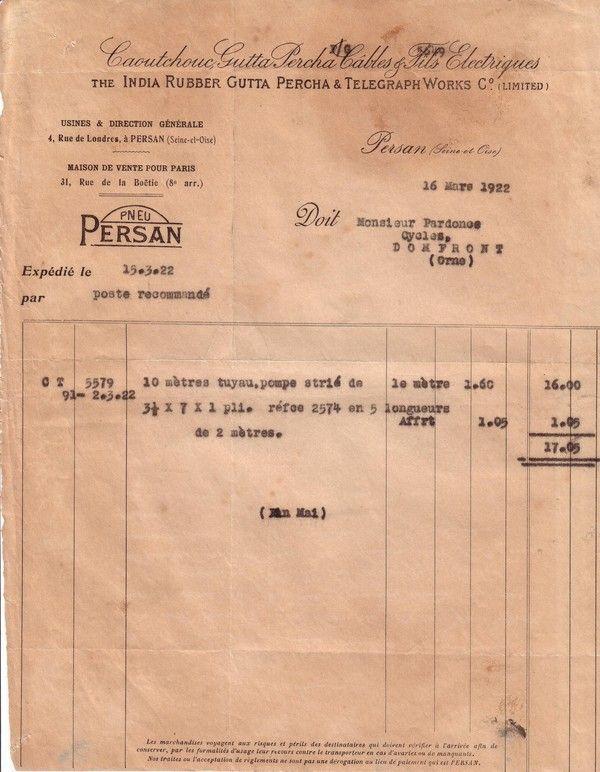 1922 : gutta-percha (2)
