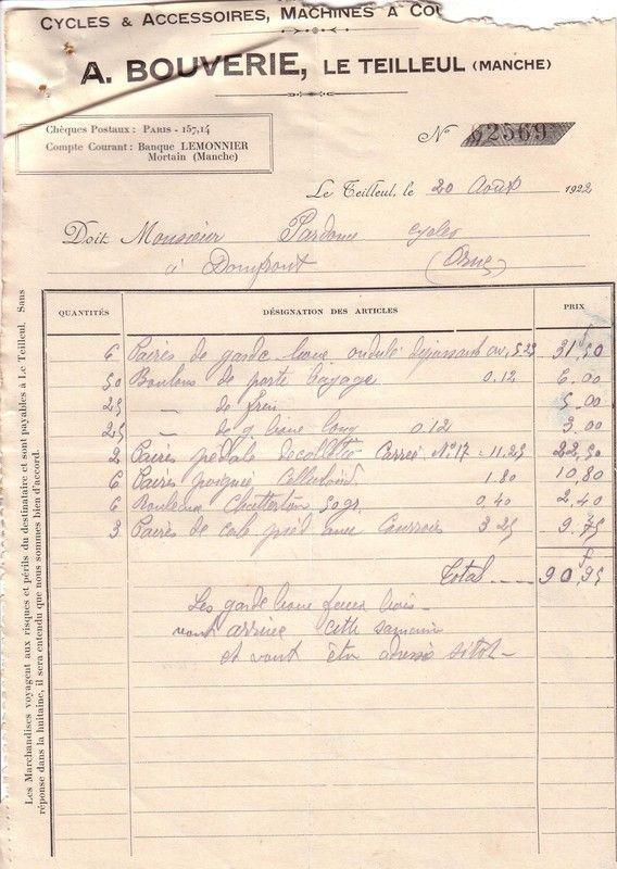 1922 : poignée  celluloïd