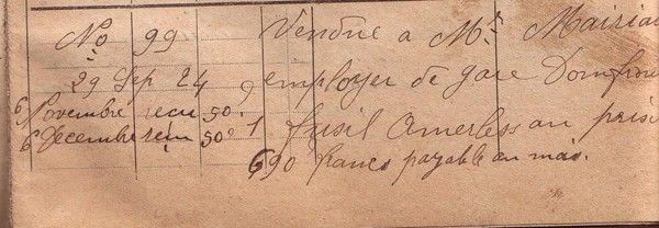 "1924 : fusil ""hammerless"""