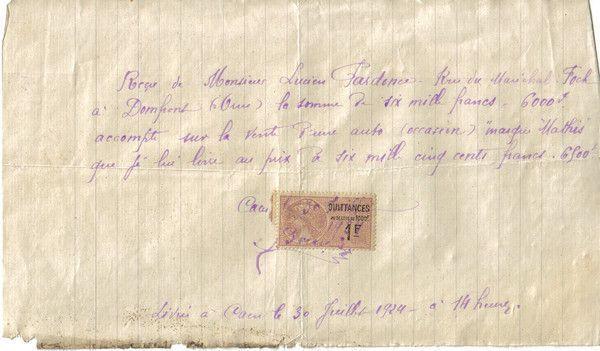 1924 : Mathis
