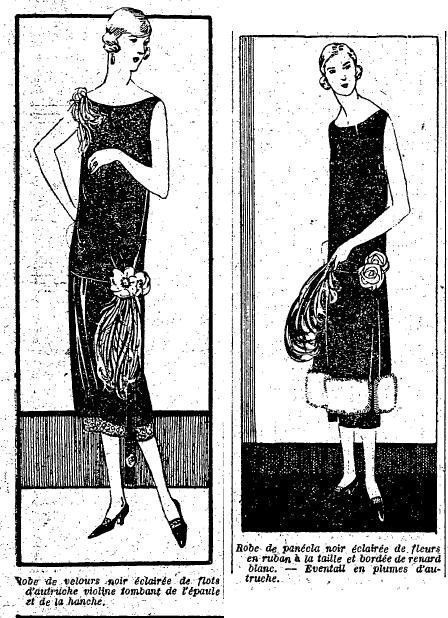 1924 : mode