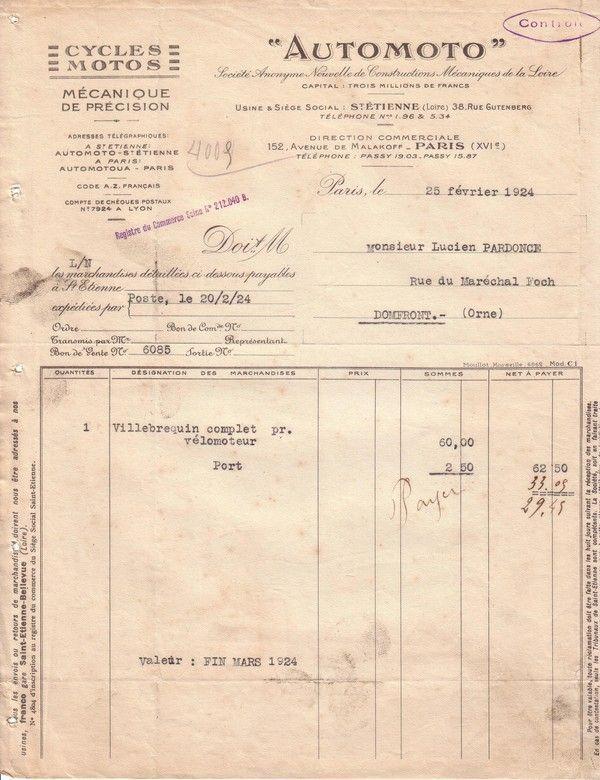 1924 : vilebrequin