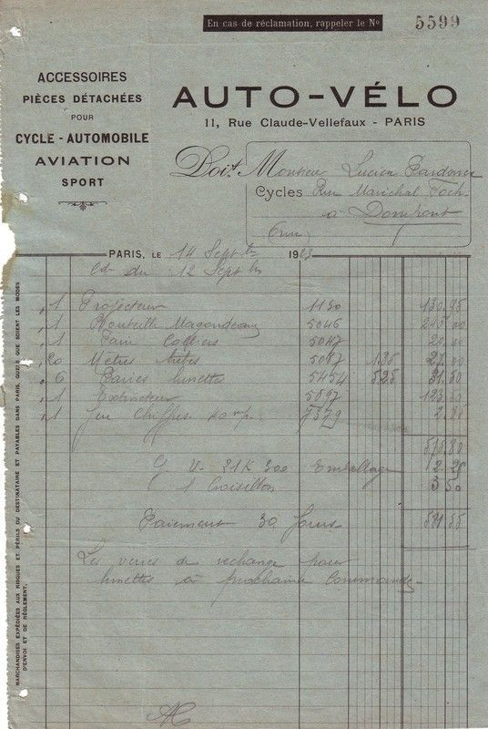 1923 : extincteur