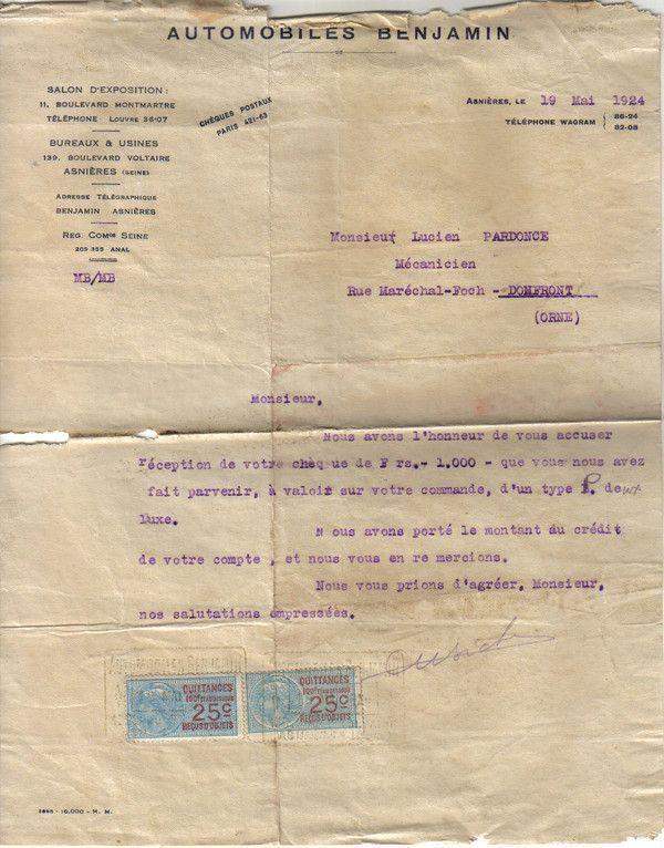 1924 : Mathis (suite et fin)