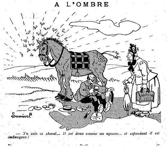 1925 : humour