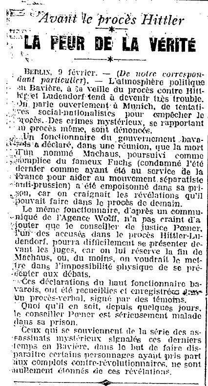 1924 : curiosité