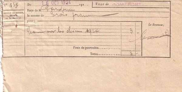 1924 : taxe sur les chiens
