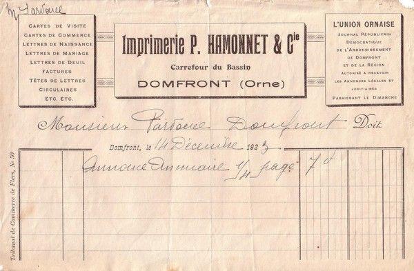 1923 : annuaire