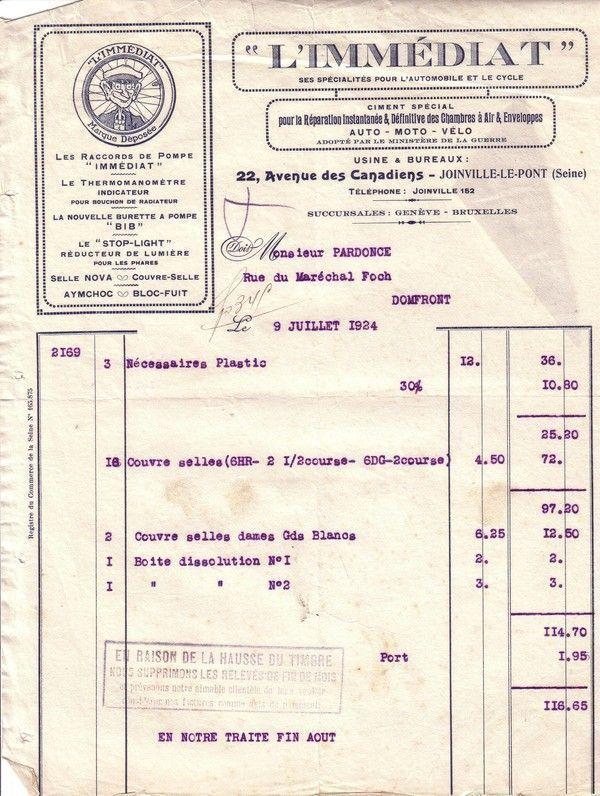 1924 : thermomanomètre