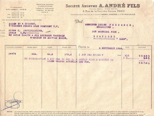 1924 : André - Nobel