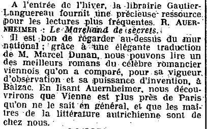 1924 : Raoul Auernheimer