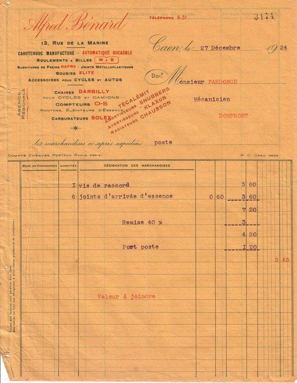 1924 : radiateur Chausson