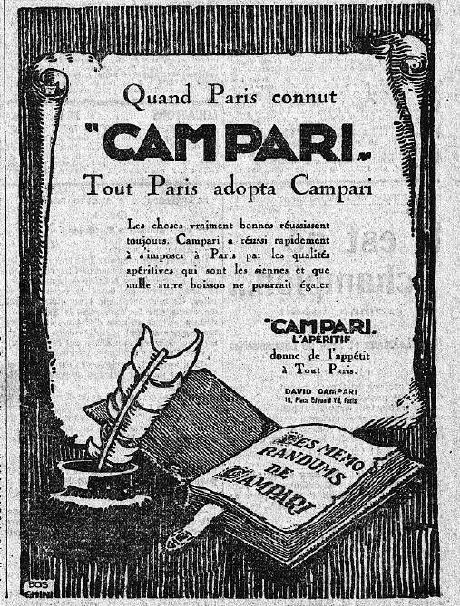 1925 : publicité