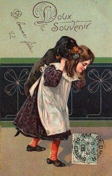 1924 : cartes de voeux