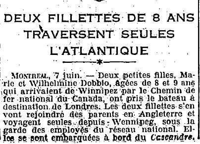 1924 : souvenir