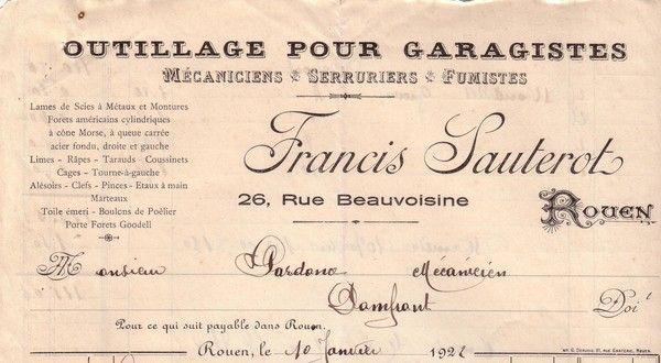 1922 : porte-forets Goodell