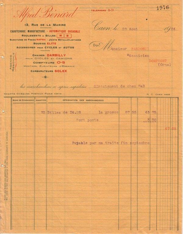 1924 : Malicet et Blin