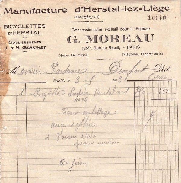 1923 : Herstal