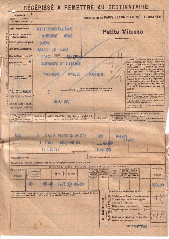 1924 : P.L.M.