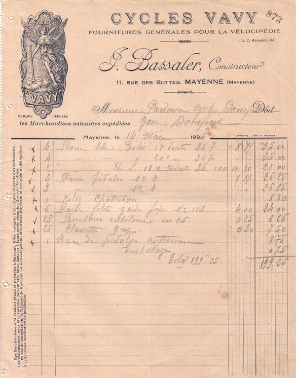 1925 : Cottereau
