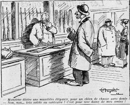 1922 : humour