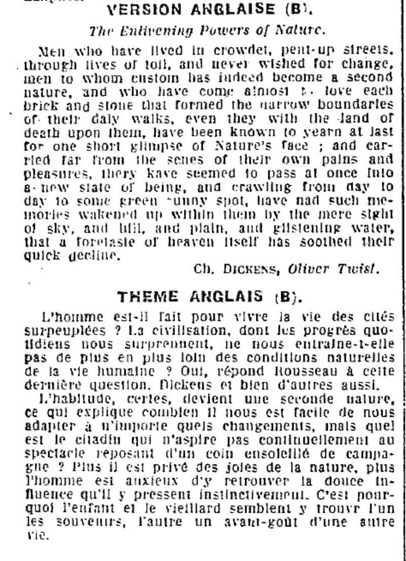 1923    u00e9preuve du baccalaur u00e9at