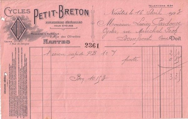 1923 : Petit Breton