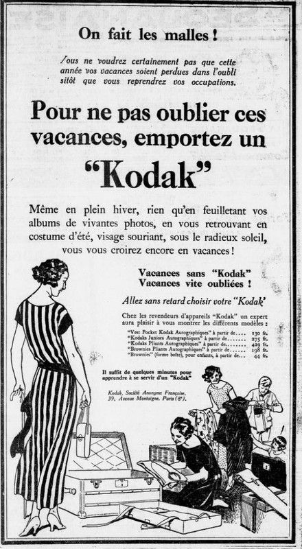 1924 : Kodak