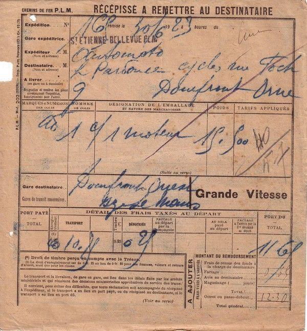 1923 : PLM