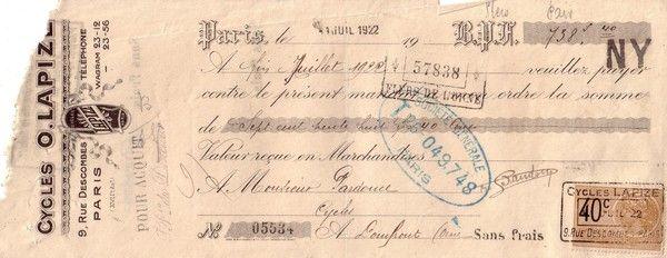 1922 : Octave Lapize (suite)
