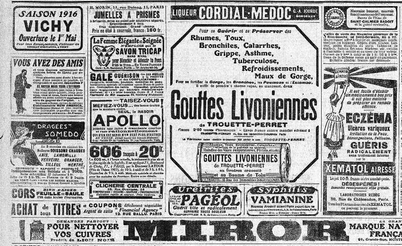 journaux avant 1914