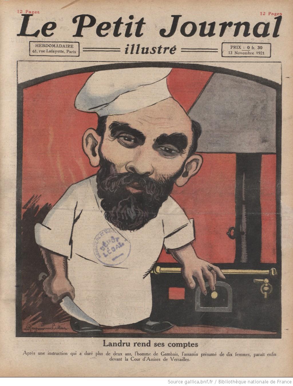 1921 landru suite - Le journal du 11 metres ...