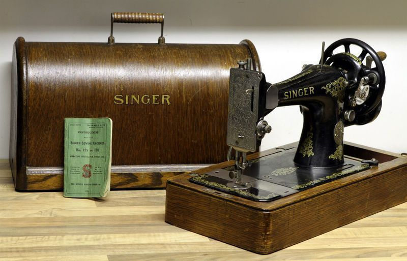 1921 machine coudre - Vieille machine a coudre singer ...